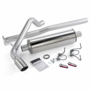 "Banks 3"" Monster Exhaust 2005-12 Toyota Tacoma 4.0L - Chrome Tip (EC-DC/LB)"