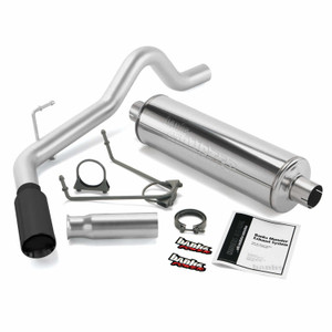 "Banks 3"" Monster Exhaust 2000-06 Toyota Tundra 3.4L/4.0L/4.7L - Black Tip"