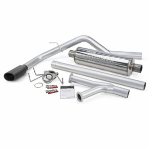 "Banks 3"" Monster Exhaust 2009-19 Toyota Tundra 4.6L/5.7L - Black Tip (DC/MB, CM/SB)"