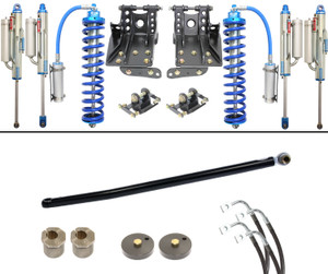 """Carli 2.5"""" Coilover-Bypass 05-16 Ford F250/350 6.7L Leveling Kit, BASE"""