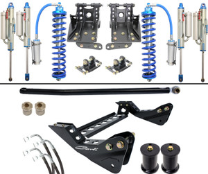 """Carli 4.5"""" Coilover Bypass 05-16 Ford F250/350 6.7L, Base Kit"""