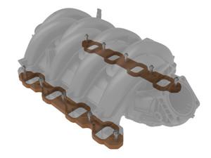 AFE Silver Bullet Intake Manifold Spacers, Ford Super Duty F-250/F-350 2020 V8-7.3L