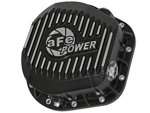 AFE Rear Differential Cover, Machined Fins; Pro Series, Ford F-250/F-350/Excursion 1986-2020 V8