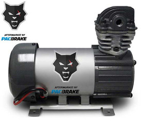 Pacbrake 12V HP625 Series Heavy Duty Air Compressor Kit Vertical Pump Head HP10625V Air Compressor Basic Components Of The Unloader Block Assembly Does Not Include The Pre-Built Wiring Harnesses Pacbrake