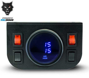 Pacbrake Basic Independent Electrical In Cab Control Kit W/Digital Gauge Pacbrake