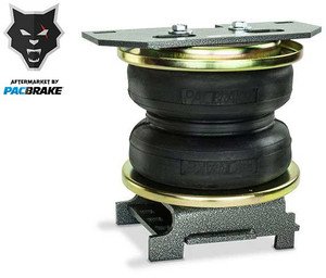 Pacbrake Heavy Duty Rear Air Suspension Kit For 12-21 Ford F-450/F-550 Super Duty 2WD/4WD Pacbrake
