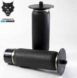 Pacbrake Heavy Duty Sleeve Style Replacement Air Spring Anodized Black Pacbrake