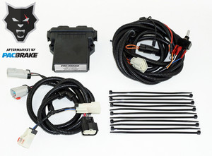 Pacbrake PH+ Electronic Engine Shut Off Valve Kit 07-10 Silverado/Sierra 2500 / 2500 HD / 3500 / 3500 HD/Chassis Cab w/ Duramax 6.6L (LGH) Engine Packbrake