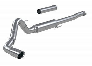 "MBRP 4"" Cat Back, Single Side, Race, 304 Stainless Steel Ford F-150 2.7L/ 3.5L Ecoboost, 5.0L 2021"
