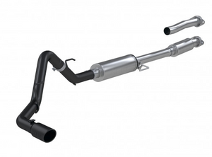 "MBRP 3"" Cat-Back Single Side Exhaust System, 2021 Ford F-150 Black Coated Aluminized Steel"