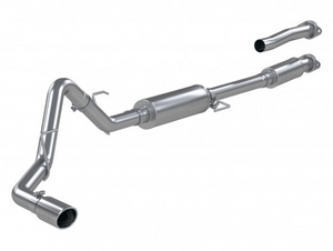 "MBRP 3"" Cat-Back Single Side Exhaust System, 2021 Ford F-150 Pro Series T304 Stainless Steel"