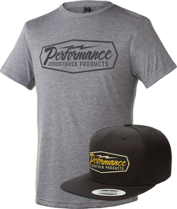 PTP Shirt & Snapback Hat