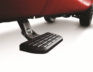 AMP Research BedStep2 - Black, 2007-2020 Toyota Tundra