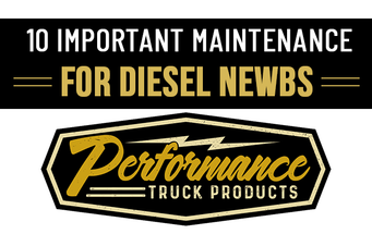 10 Important Maintenance Tips For Diesel Newbs