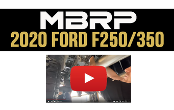 2020 Ford F250/F350 7.3L MBRP Exhaust!