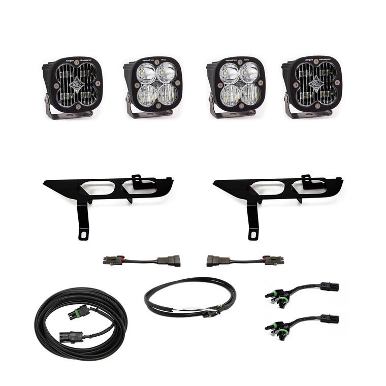 Baja Designs Fog Pocket Kit SAE Clear/Pro DC Ford F-150 2021+ 447699UP
