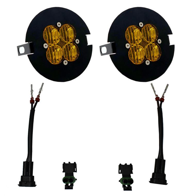 Baja Designs SAE Amber Fog Light Kit F-150 2006-2014 Tundra 2007-2013 Tacoma 2005-2011