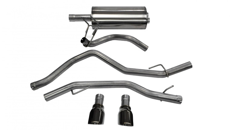 Corsa COR-14405BLK Cat Back Exhaust