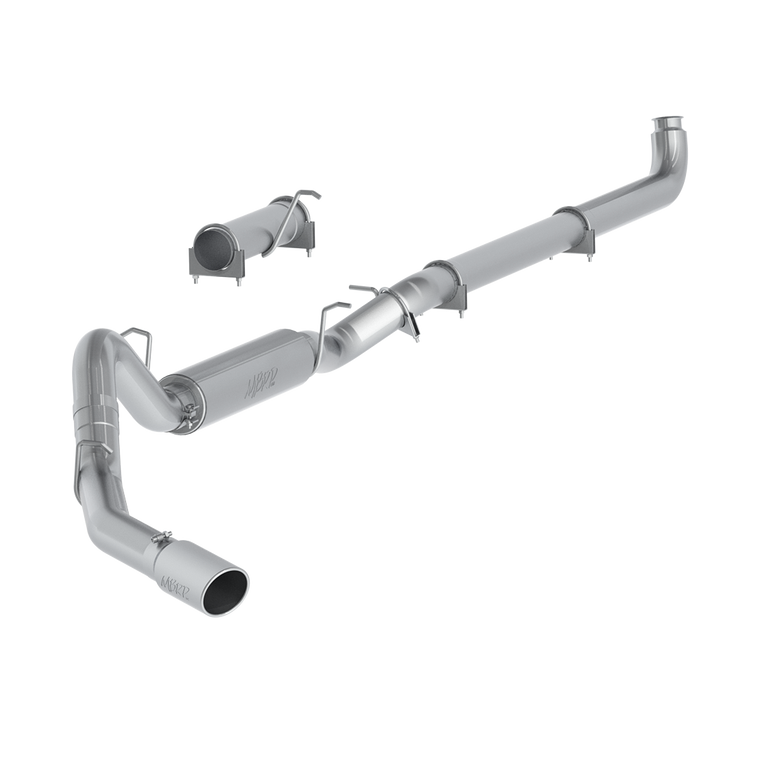 "MBRP 4"" Single Side, AL, Chevy/GMC 2500/3500 Duramax, EC/CC 2001 - 2007"