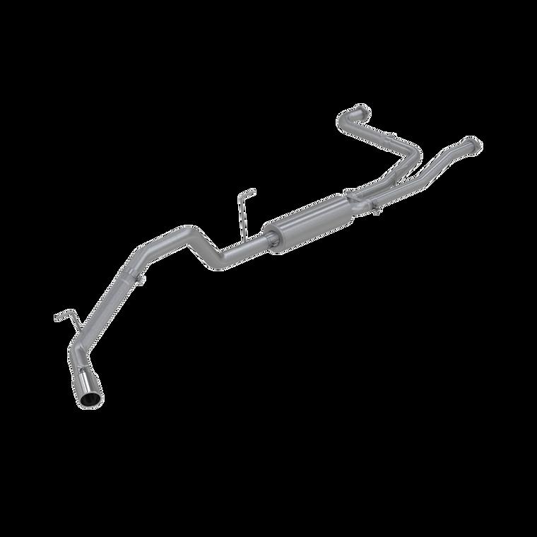 """MBRP 3"""" Cat Back, Single Side, T409, Nissan Titan 5.6L, EC/CC 2007 - 2015"""