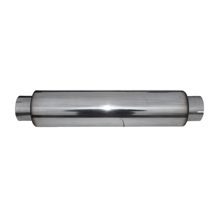 """MBRP Muffler 4"""" Inlet /Outlet 24"""" Body 30"""" Overall, T304"""