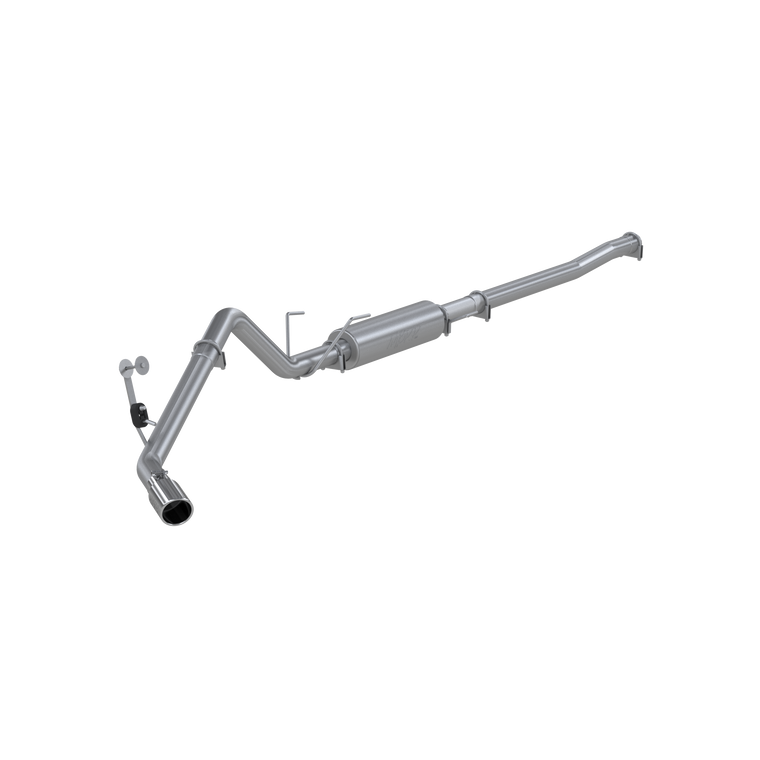 "MBRP 3"" Cat Back, Single Side Exit, AL, Dodge Ram Hemi 1500 5.7L Mega Cab 2006-08, 2500/3500 2003-13"