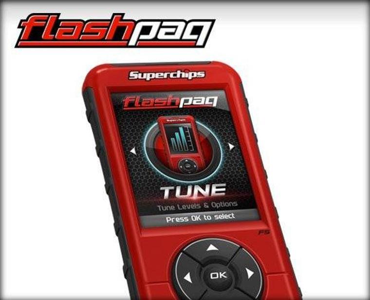 Superchips Flashpaq F5 Dodge/Ram Diesel/Gas (Diesel 03-12 & Gas 98-14)