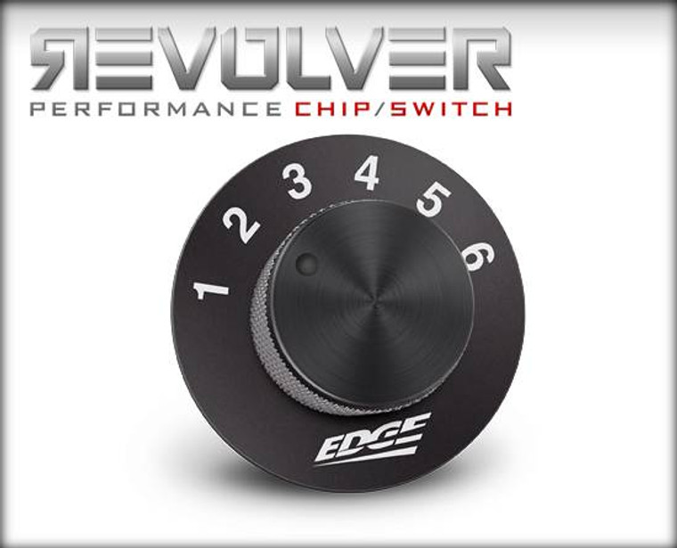 Edge REVOLVER PERFORMANCE CHIP/SWITCH FORD 7.3L 99.5-01 Auto 6-Chip Master Box Code NVK4