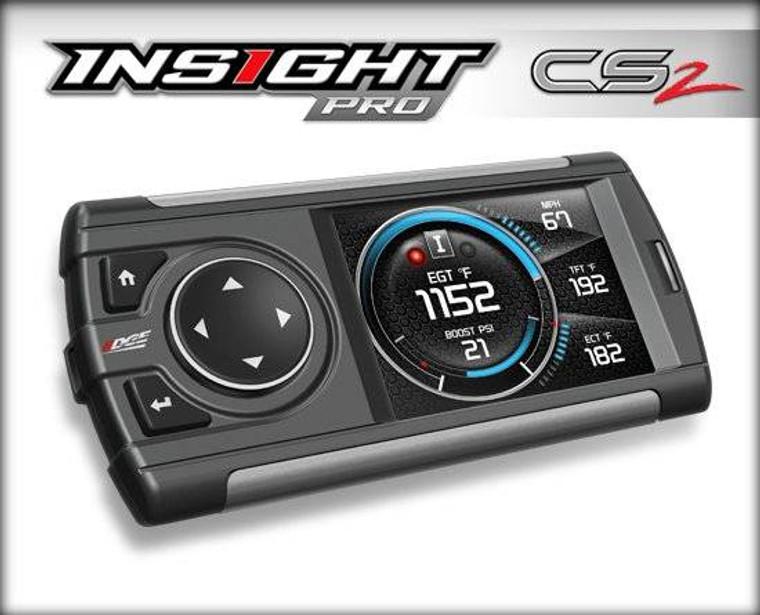 Edge Insight Pro CS2 Performance Monitor - 01-15 GMC Sierra / Chevrolet Silverado 6.6L, 03-16 Ford F250-F350 6.0L / 6.4L / 6.7L, 03-07 Dodge 2500-3500 5.9L - 86000