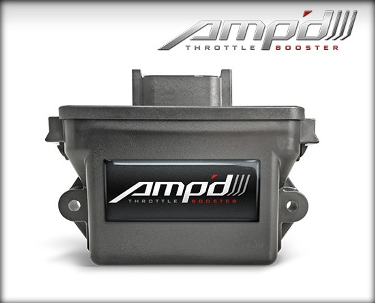 Edge Amp'd Throttle Booster Kit with Power Switch 2007-2018 GMC/Chevrolet Truck/SUV Gas - refer to website for specific application coverage