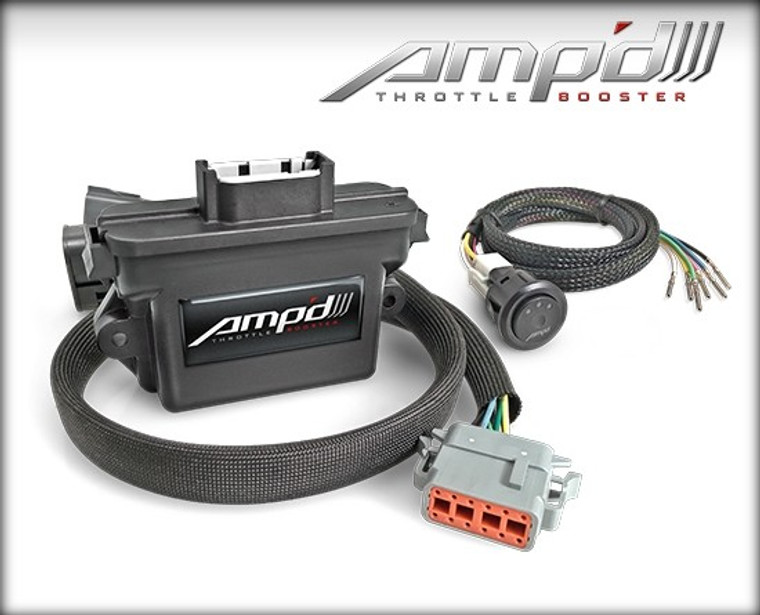 Edge Amp'd Throttle Booster w/ Switch 2009-2020 Ford Gas