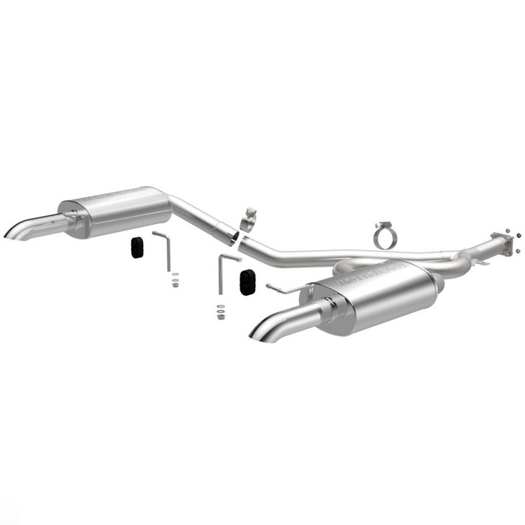 Magnaflow Stainless Cat-Back System /Exhaust Systems/Dual Exhaust Kit Rear Exit 1980-82 Corvette
