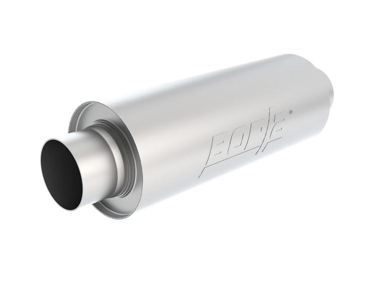 "Borla XR-1 Multi-Core 3.5"" Center-Center 16"" x 6.25"" Round - Racing Muffler For Venues Requiring A Muffler. BOR-40722"