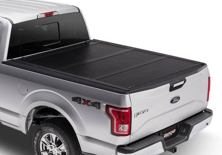 UnderCover Flex 2007-2013 Chevrolet Silverado/GMC Sierra 1500 5.8ft Short Bed Crew without Cargo Management System without Bed Rail Caps Black Textured