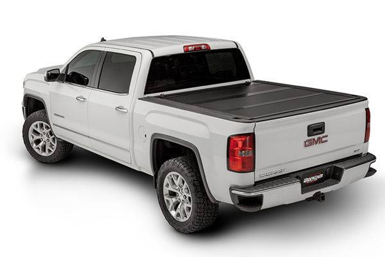 UnderCover Ultra Flex 2004-2014 Ford F-150/2006-2008 Lincoln Mark LT 6.5ft Short Bed Std/Ext/Crew Matte Black Finish