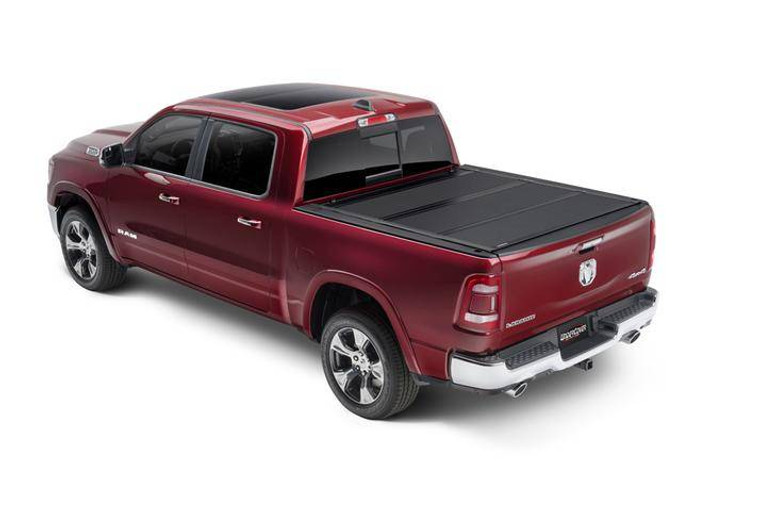 UnderCover Armor Flex 2016-2019 Nissan Titan 5.5ft Short Bed Crew with Utili-Track System Black Textured