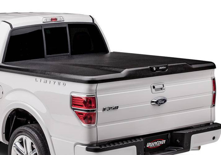 UnderCover Elite 2019 (New Body Style) Ram 1500-3500 6.4ft Short Bed, Quad/Mega with Single Rear Wheels without RamBox Black Textured