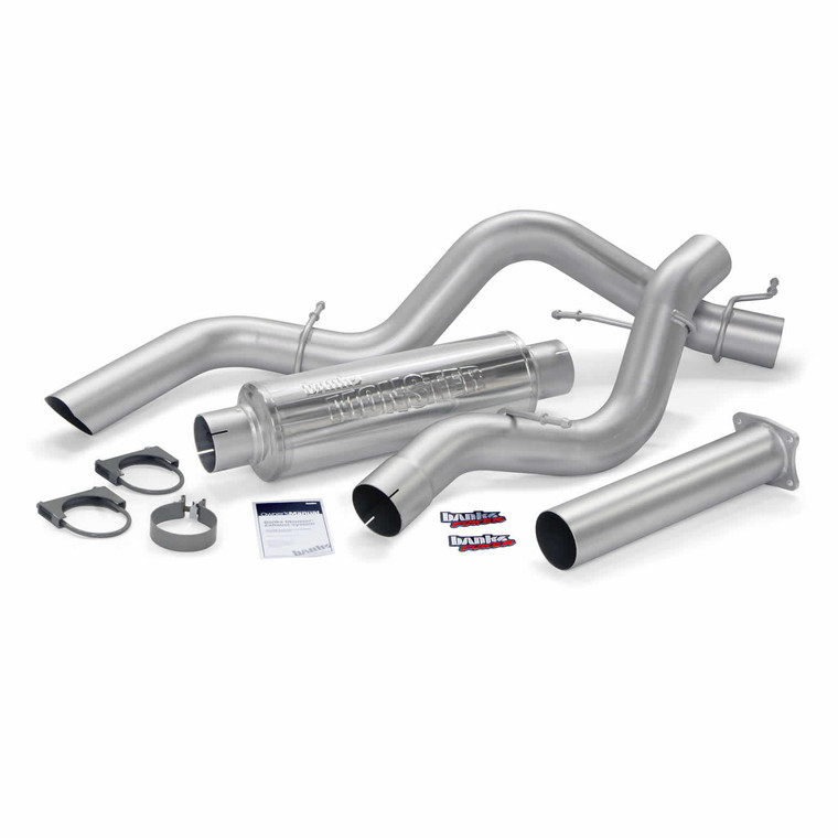 "Banks 4"" Monster Sport Exhaust 2001-05 Duramax 6.6L (SC/LB)"