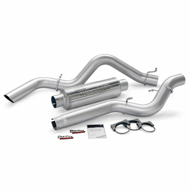 "Banks 4"" Monster Sport Exhaust 2006-07 6.6L Duramax (CC/LB)"