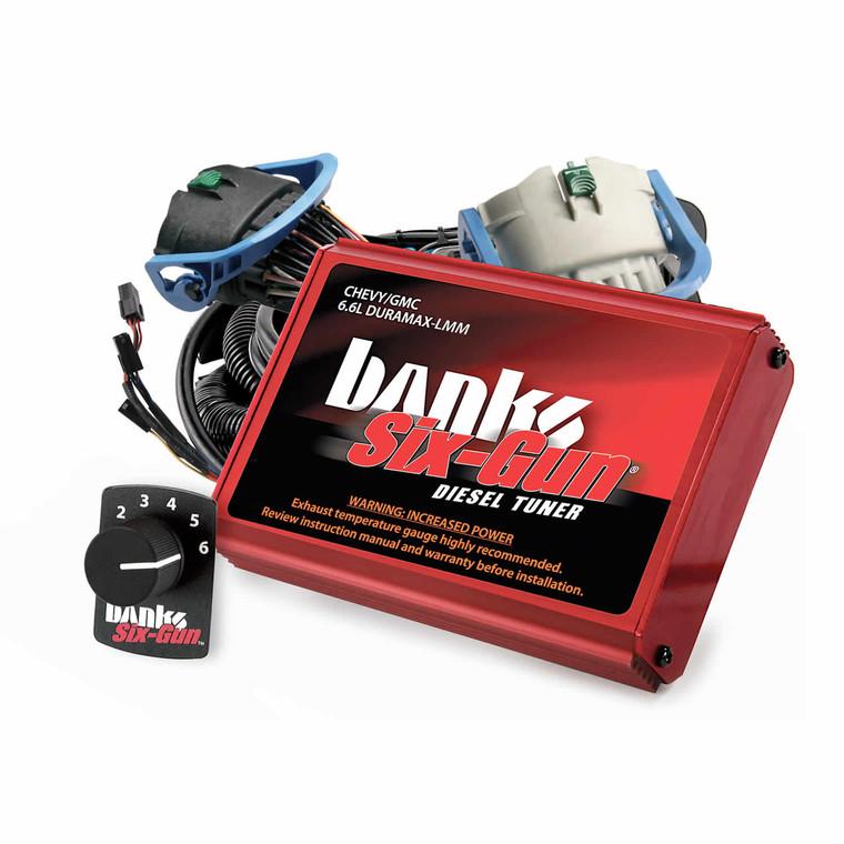 Banks Six-Gun 2007.5-10 6.6L Duramax LMM Tuner w/ Switch