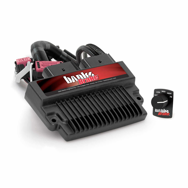 Banks Exhaust Brake 2007.5-10 6.6L Duramax LMM w/Switch