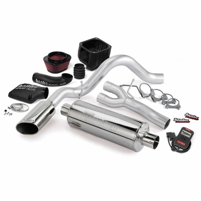 Banks Stinger Kit 2009 Chevy/GMC 1500 5.3L Flex - Chrome Tip (CC/SB-EC/SB)
