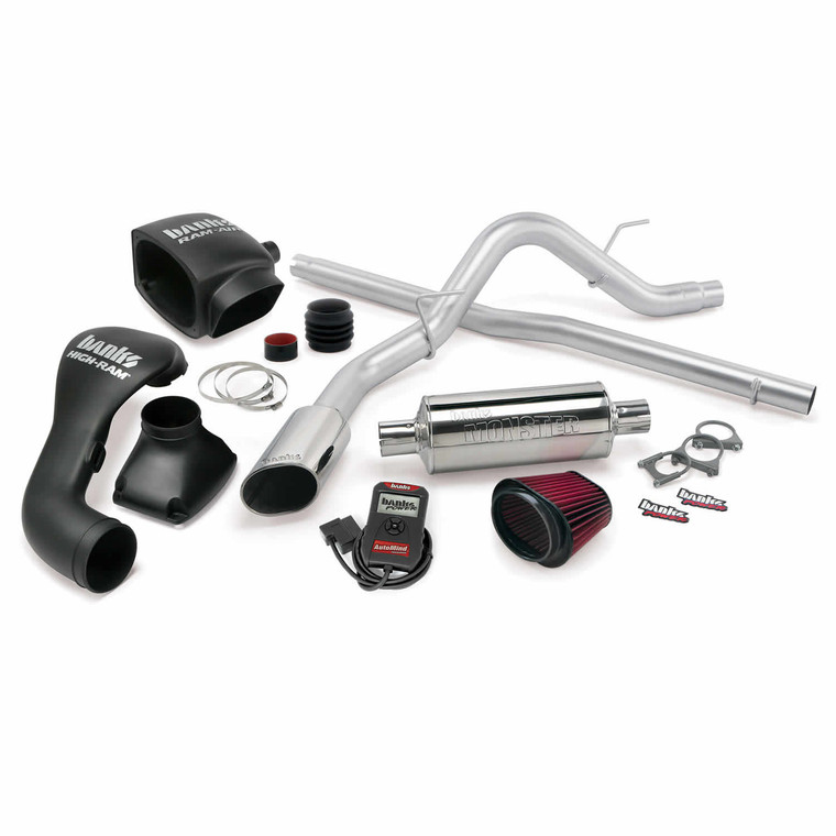 Banks Stinger Kit 2004-08 Ford 5.4L F-150 CC/SB - Chrome Tip