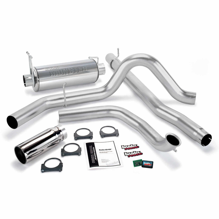 Banks Git-Kit  2001-03 Ford 7.3L - Chrome Tip (w/Cat)