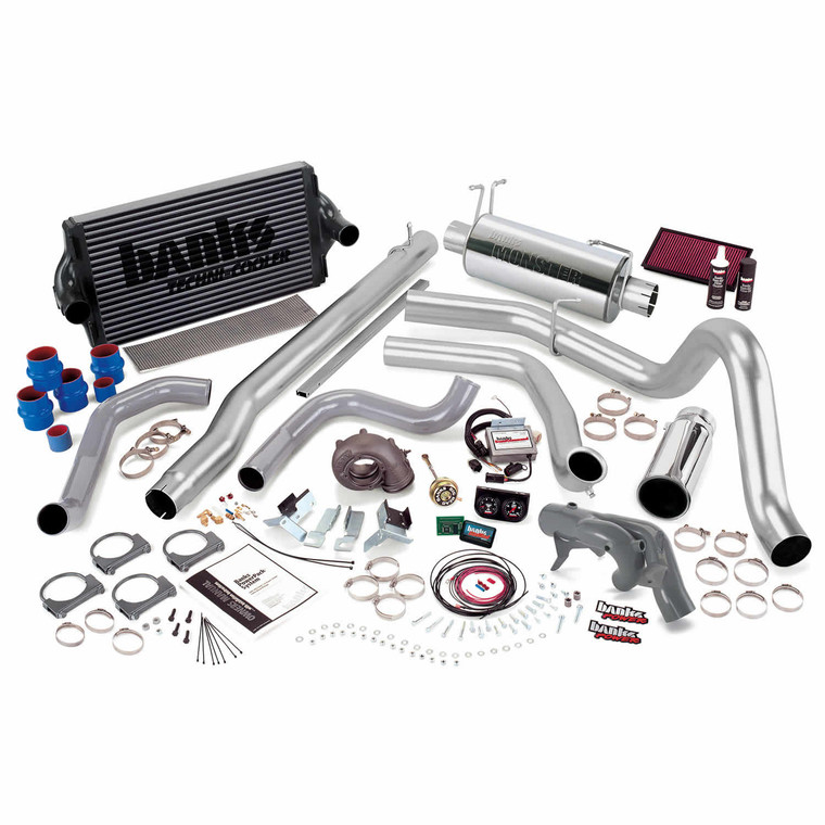Banks PowerPack Early 1999 Ford 7.3L - Chrome Tip (Auto)