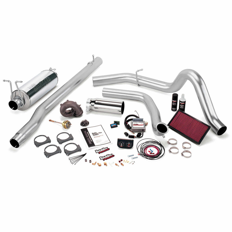 Banks Stinger Plus 1999.5 Ford 7.3L - Chrome Tip (Auto)