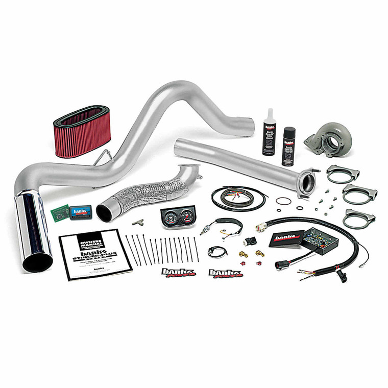 Banks Stinger Plus Kit 1995.5-97 Ford 7.3L - Chrome Tip (Auto Trans)
