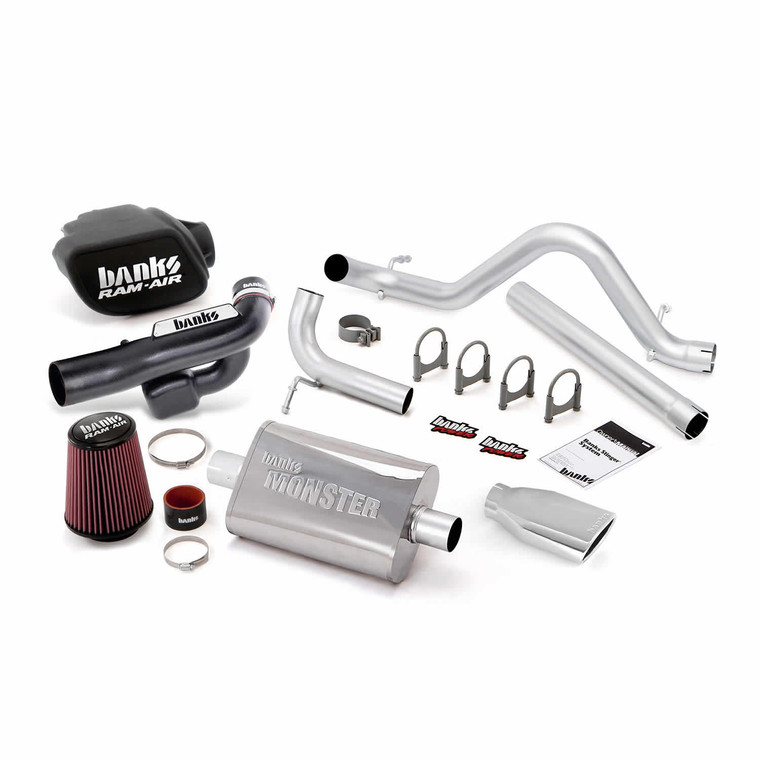 Banks Stinger Kit 2012-18 Jeep 3.6L Wrangler 4 Door - Chrome Tip
