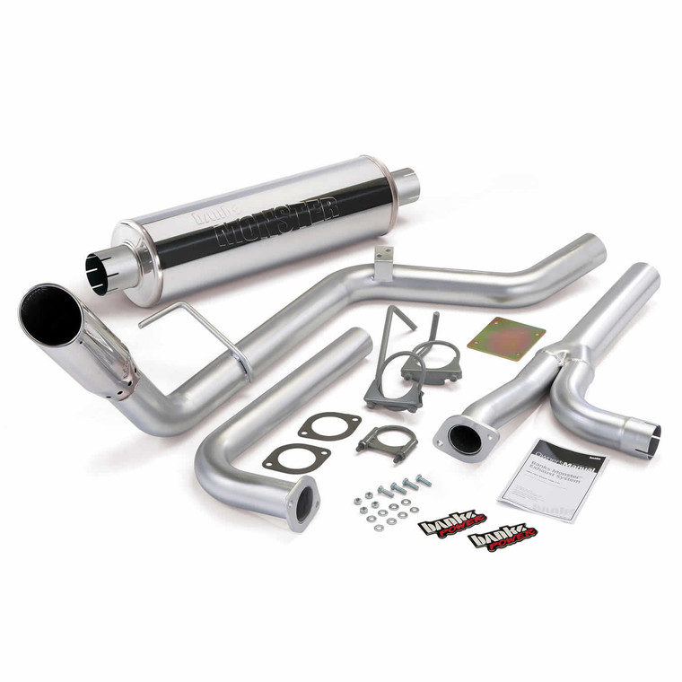 """Banks 3"""" Monster Exhaust 2004-15 Nissan Frontier 4.0L - Chrome Tip (All Cab/Bed)"""