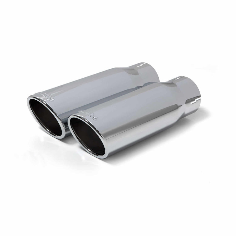 """Banks 3"""" Monster Exhaust Duals 2014-19 Ram 1500 3.0L EcoDiesel - Chrome Tips"""